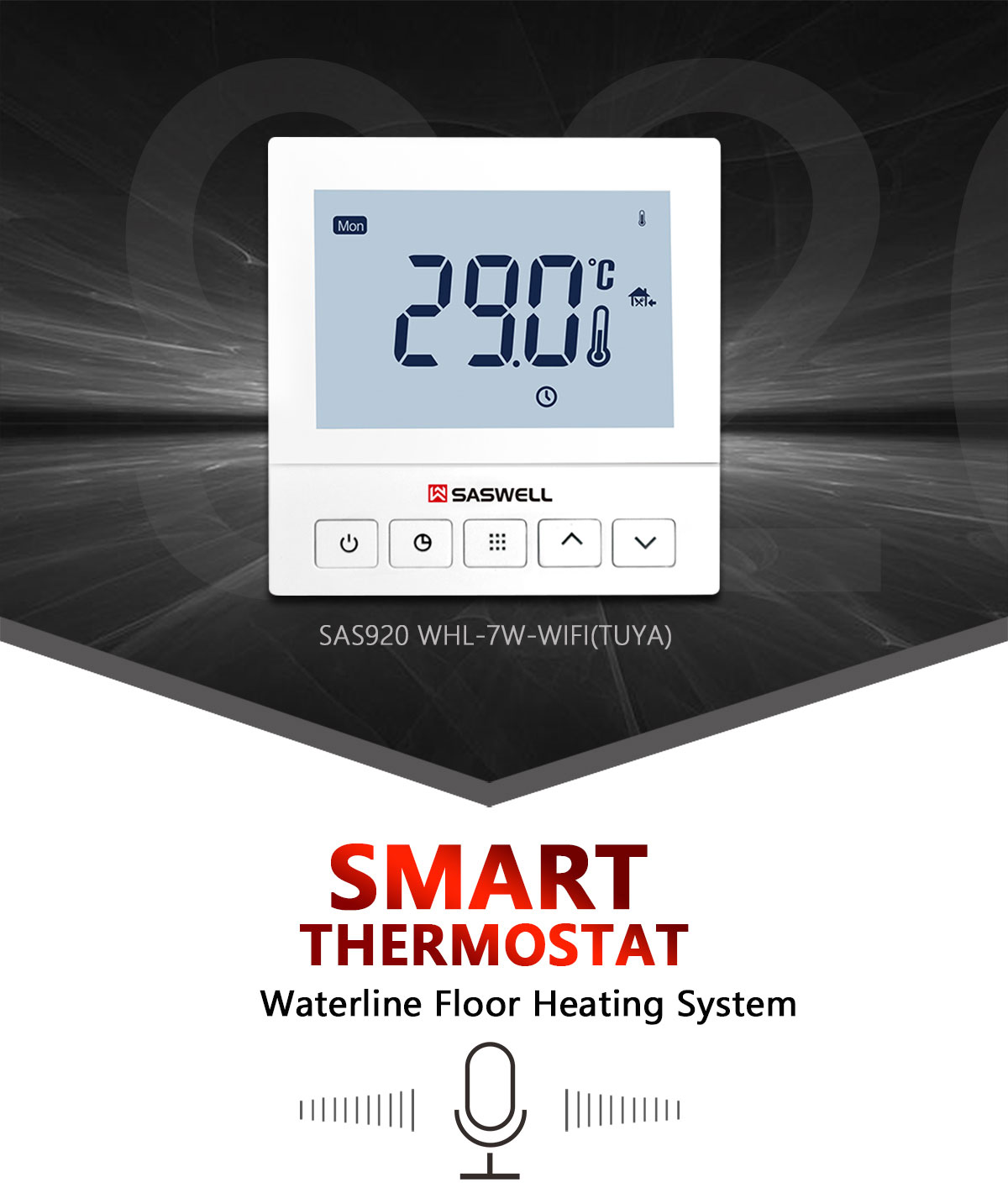 Tuya water Floor heating thermostat
