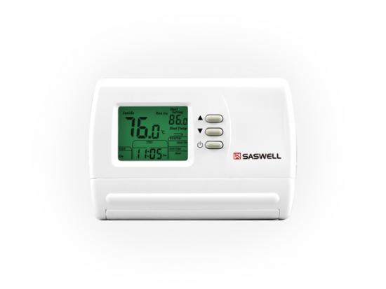 Multi stage room thermostat